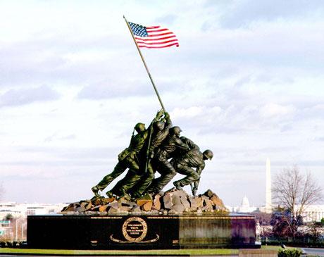 Memorial Iwo Jima